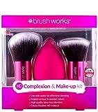Brush Works Éponge Teint HD et Kabuki Brosse Ensemble 1 Unité