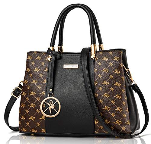 Maysurban Women Handbags and Purses Designer 2020 Top Handle Bag PU Leather Shoulder Bag Elegant for Ladies