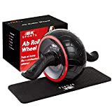 BK Sports Ab Roller Wheel for Abs Workout – Ab Roller Wheel Abdominal Exercise Equipment – Train...