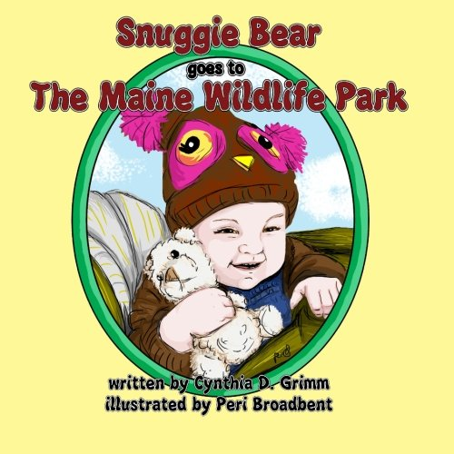 Snuggie Bear Goes to the Maine Wildlife Park