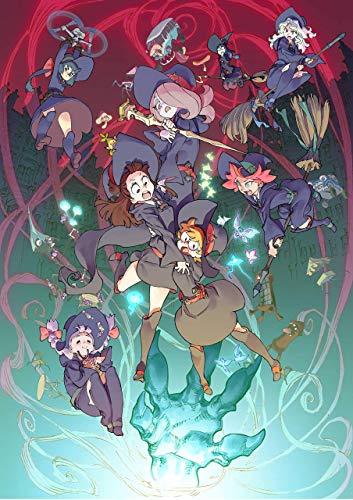 Póster de anime de Little Witch Academia, tamaño 28 x 430 mm, impresión decorativa para regalo