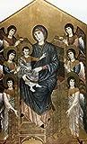 Cimabue Cenni di Pepe – Maesta Madonna Enthroned by