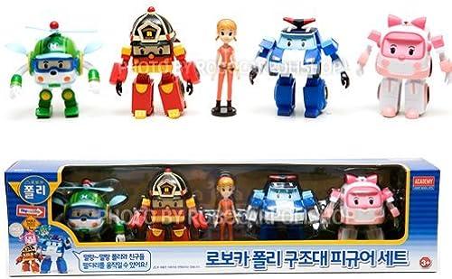 Todos los productos obtienen hasta un 34% de descuento. Robocar Poli soft Figure Set (Poly, (Poly, (Poly, Amber, Roy, Heli and Jin) by Toy2b  Todo en alta calidad y bajo precio.