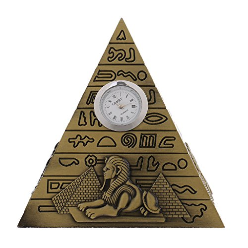 Sharplace Hucha Forma Pirámide Egipto Ornamento Decorativo