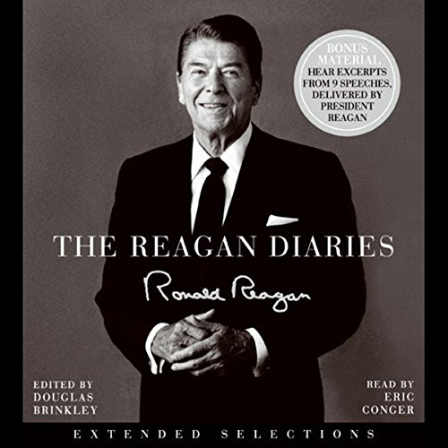 The Reagan Diaries audiobook cover art