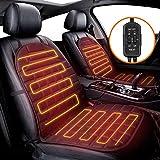 AUDEW 1 paio di coprisedili riscaldati per auto da 12 V con regolatore di temperatura a 2 modalità, Universail riscaldamento veloce