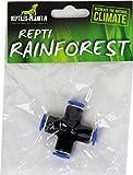 Rettili Planet Vaporizzazione connettore in X per Repti Rainforest