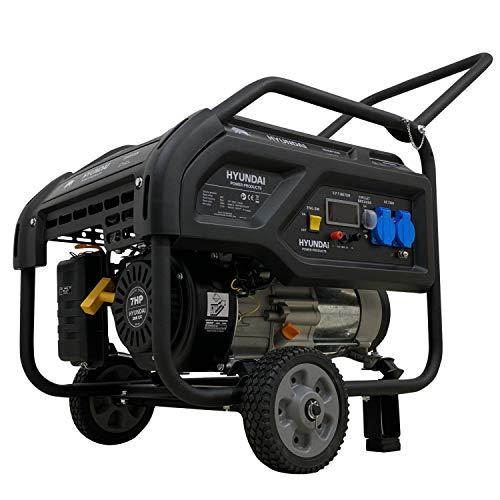 Hyundai DT31B 3100W Benzin-Stromgenerator (Frequenz 50 Hz, Volt 230, Seilzugstarter)