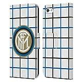 Head Case Designs Ufficiale Inter Milan Fuori Casa 2020/21 Kit Crest Cover in Pelle a Portafoglio Compatibile con Apple iPhone 5c