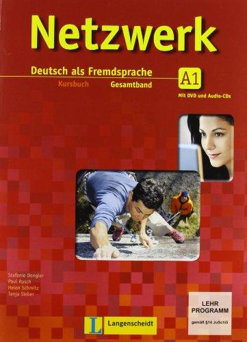 Netzwerk. A1. Kursbuch-Arbeitsbuch-Glossar. Per le Scuole superiori. Con CD Audio. Con DVD. Con espansione online (Vol. 1)