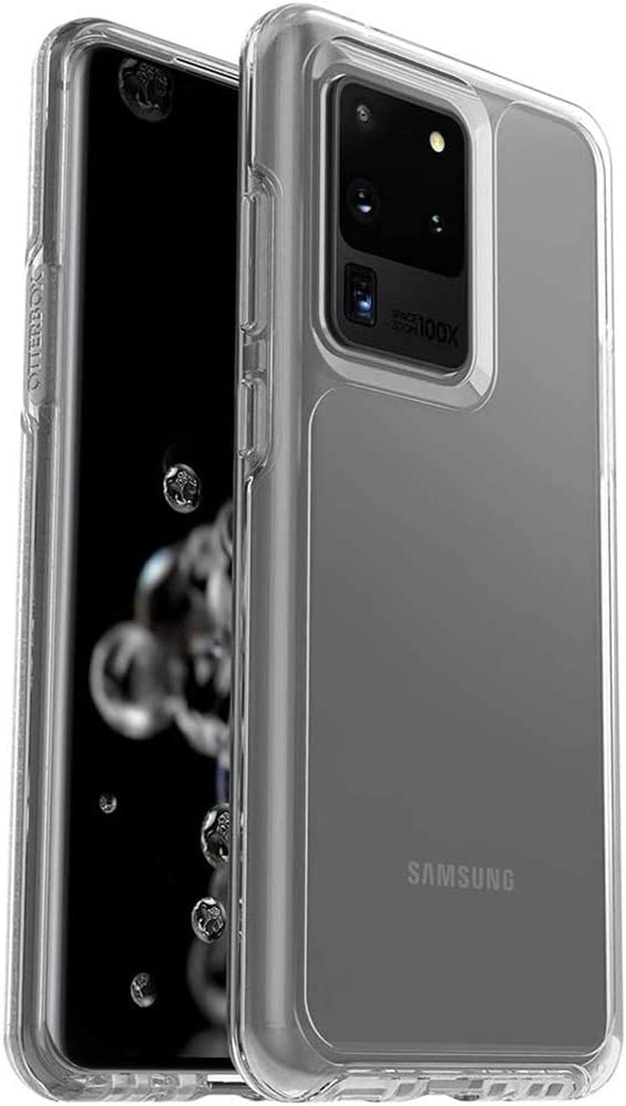 OtterBox Symmetry Series Case for Samsung Galaxy S20 Ultra & S20 Ultra 5G (ONLY) Non-Retail Packaging - Clear