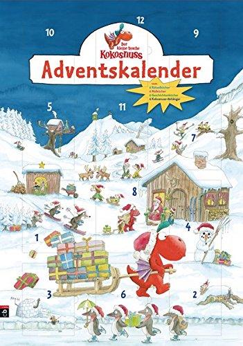 Der kleine Drache Kokosnuss Adventskalender: Weihnachtsdorf
