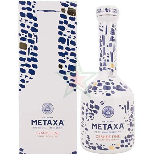 Metaxa GRANDE FINE Collector's Edition Keramikflasche 40,00% 0,70 Liter