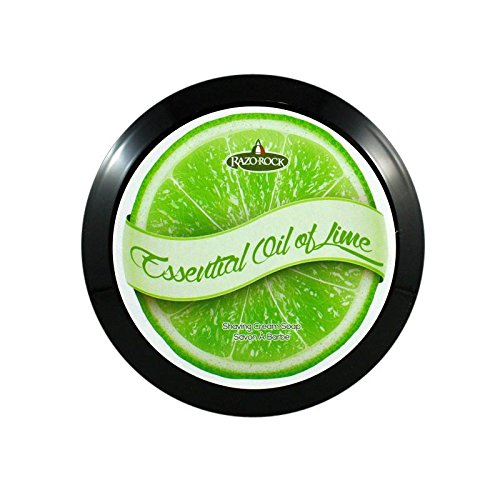 RazoRock King of the Castle Artisan Shaving Soap - Essential Oil of Lime