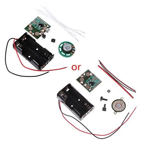 Koehope DIY Electronic Kit spraakopname IC-module Mini Digital Chip Recorder muziekkaart
