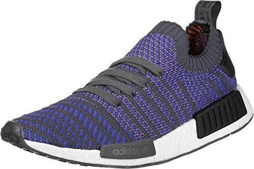adidas Originals Herren NMD_R1 STLT Primeknit Blau Synthetik Sneaker 38