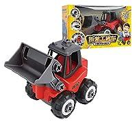 ABS玩具、建設玩具キット - アセンブリ玩具掘削機の建設、ディガー車遊びセットドライバー、幼児のための理想的な教育玩具誕生日、男の子&女の子3,4,5,6 (Color : Bulldozer)