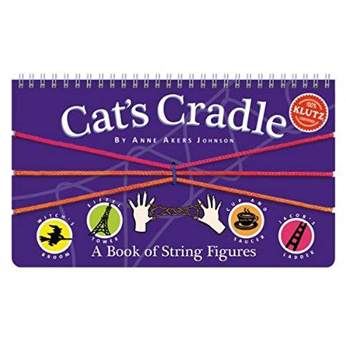 "Klutz Cat's Cradle Book Kit- Multicolor, 9.44"" Length x 0.5"" Width x 5.75"" Height"