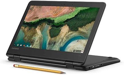 "Flagship Lenovo 300e 11.6"" HD IPS Touchscreen 2 in 1 Chromebook - Quad-Core MediaTek MT8173C 2.1GHz 4GB RAM 32GB eMMC 802.11ac 802.11ac HD Webcam HDMI Bluetooth USB Type-C Chrome OS"
