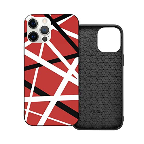 Van Halen Guitar iPhone 12 Pro Max Case, Slim Anti-Scratch TPU Rubber Protective Case for iPhone 12 Pro, iPhone 12, iPhone 12 Pro Max, iPhone 12 Mini