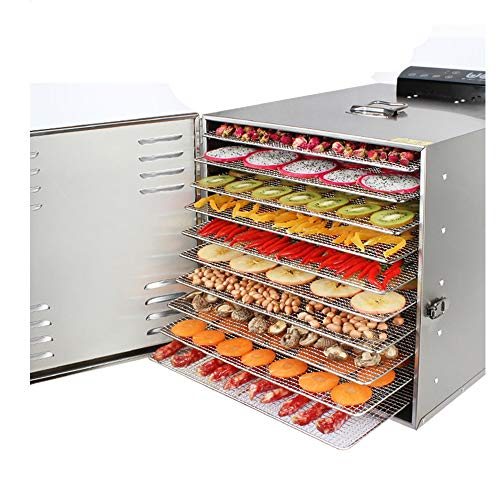 Fantastic Deal! Fruit-Meat Dryer Food Dehydrator Stainless Steel Food Dryer 10 Layers Preserver with...