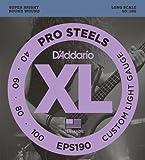 d'Addario EPS190 Set Corde Basso Prosteel