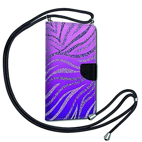 Handykette Kordel Band Book Tasche für Nokia 5.3 - Handyhülle Handy Hülle mit Band Schutzhülle zum Umhängen TPU Silikon Motiv KBX37
