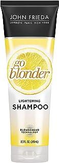 John Frieda Sheer Blonde Go Blonder Lightening Shampoo, 8.3 Ounces