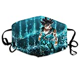 Dragon Ball Super Goku Ultra Instinct Face Cover Fashion Reusable Nose Mouth Guard Windproof Skin-Friendly Warm Cover Washable Balaclavas Bandanas For Running Clcying