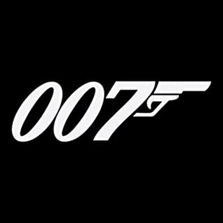 Keen James Bond 007 Decals Vinyl Stickers (Two Pack!!!)|Cars Trucks Walls Laptop|White|2-5.5 in|KCD429