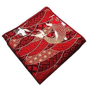 Maya Star - Tela de algodón con estampado de bronceado, estilo japonés, hecha a mano, estilo japonés, bolsa de regalo, Kimono/fundas de almohada A04