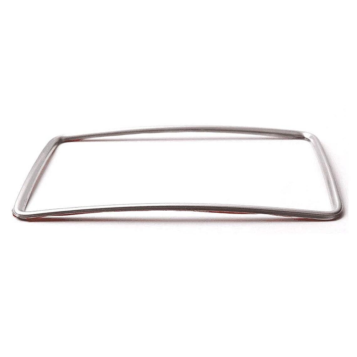 杖ヒゲ従事するJicorzo - Rear Armrest Box Air Conditioner Vent Cover Trim Interior Car Styling Sticker For Mercedes Benz GLA X156 CLA A B Class 2014-2015