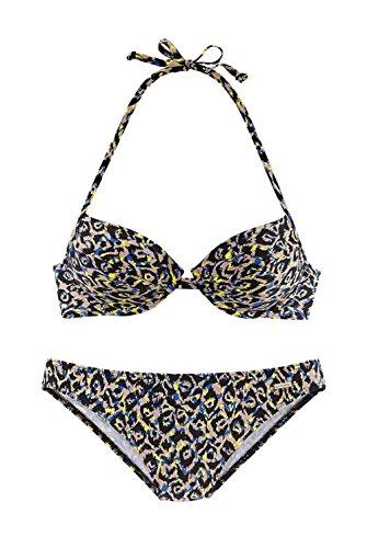 SUNSEEKER Push-up-Bikini, Sunseeker bunt Softe Microfaser-Qualität Größe 36 B-Cup