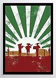 Plakat Mexiko Musiker Kunstdruck Poster ungerahmt Bild DIN