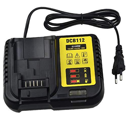 Dewalt DCB112 de 12 voltios y 20 voltios máximos de iones de litio Cargador de batería Reemplazar DCB101 DCB105 DCB115 DCB107 - Uso de DCB120 DCB127 DCB206 DCB205 DCB201