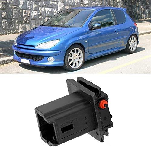 Interruptor del Tronco Interruptor de Inicio Interruptor HindsParters Botón de la manija de la Puerta para Citroen C4 para Peugeot 307 308 408 301 6554v5 (Color : Black)