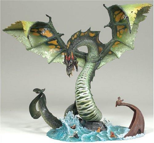 McFarlane Dragons 5 - Water Clan Dragon Actionfigur