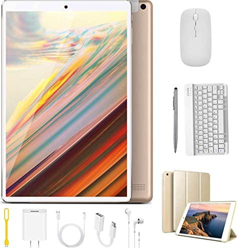 Tablet 10 Inch Android 9 0 Pie 32GB ROM 128GB 3GB RAM Tablet PC 8500mAh Battery Quad Cord Phablet product image