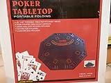 Pokertisch 8 Spieler 120 cm -