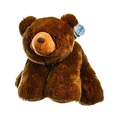 "WISHPETS Large 19"" Floppy Brown Grizzly Bear Miss OSO Plush Stuffed Animal"