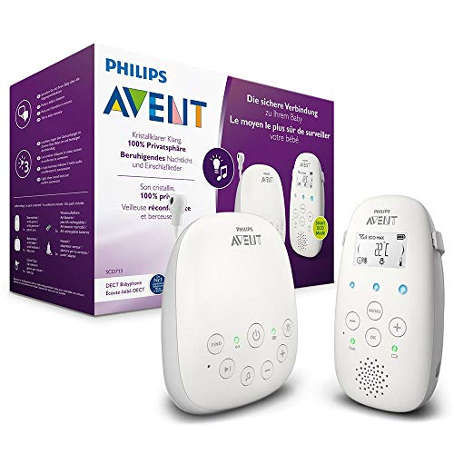 Philips AVENT SCD713/00 Babyphone DECT - Mode Smart ECO, Ecran LCD