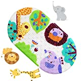 Anlass Kids Cartoon Non Slip Mats Mildew Resistant Non Slip Mats for Children Lion
