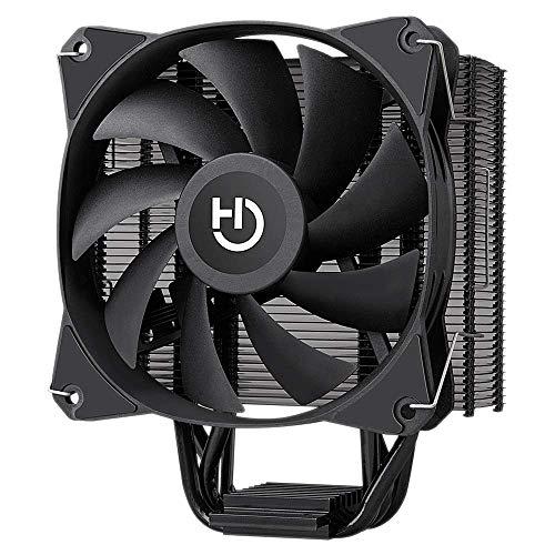 Hiditec   CPU Cooler C12 PWM   Compacto y Máximo Rendimiento   diseño Compacto de 120 x 73 x 155mm