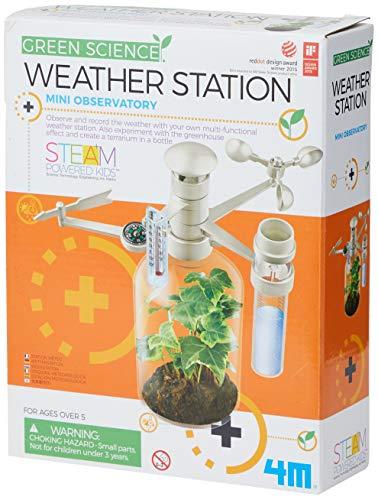 Great Gizmos - 4M - Jeux Educatifs - Kit de fabrication - Station Météo - Langue: anglais