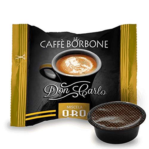 100 Capsule caffè Borbone compatibili a modo mio miscela oro