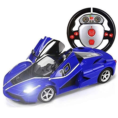 OUUED Radiografisch bestuurbare auto RC voertuig 2,4 GHz BIG TOYS aangedreven auto Remote Matt Black Power TRC 01:16 Concept Sport White Controle Maquette Beste Cadeaus for Kerstmis