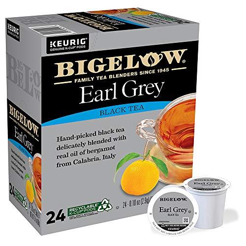 Bigelow Earl Grey Tea Keurig K-Cups, 24 Count (Pack of 4)