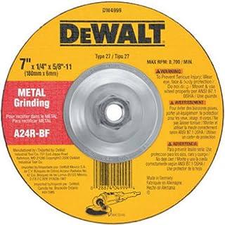 25-Pack DEWALT DARB5K0625 7in Zirc with Coolant FR Disc 60G