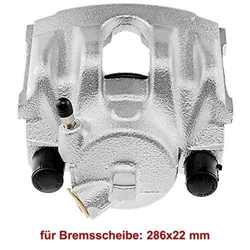 1x Bremssattel Vorderachse rechts belüftete Bremsscheibe