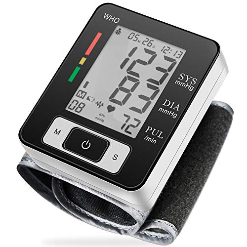 %60 OFF! Digital Blood Pressure Monitors Fully Automatic Accurate Wrist Blood Pressure Monitor with ...